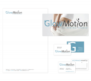 Huisstijl GlowMotion slimmingstudio